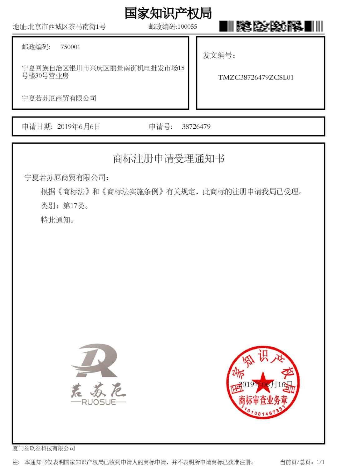银川商标注册